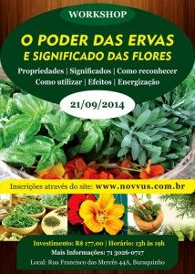 Workshop O Poder das Ervas e Florews