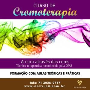 Curso de Cromoterapia Novvus3 Educação 2018