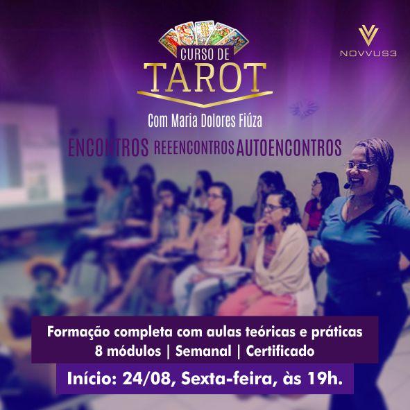 Curso de Tarot Novvus3 Educação
